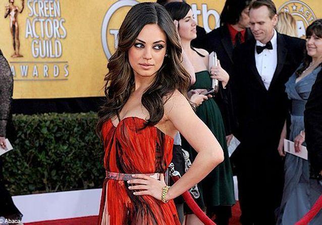 L'allure sexy-chic de Mila Kunis