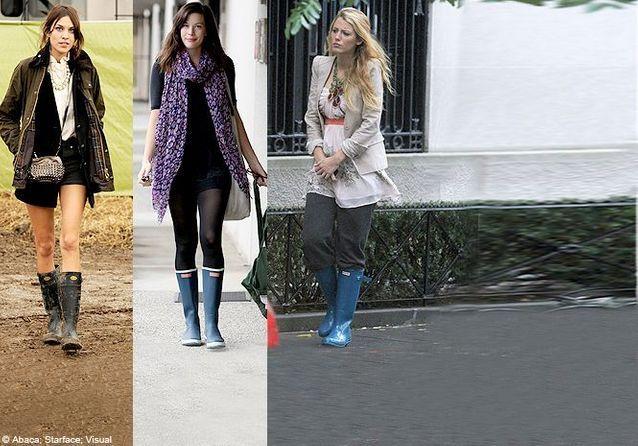 La botte qui fait aimer la pluie aux fashionistas Elle