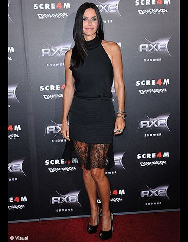 People courteney cox the row scream4