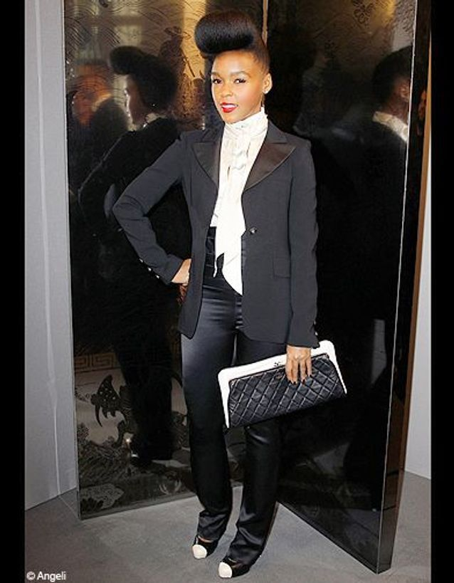 People tendance look mode janaelle monae chanel 2011