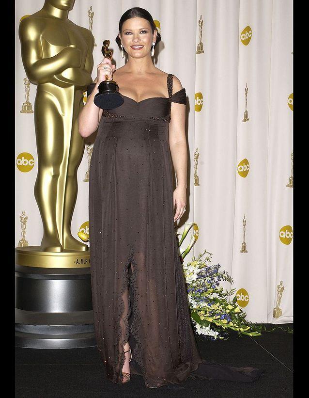 Catherine Zeta-Jones en Versace
