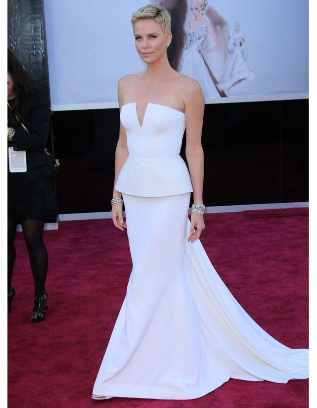 Charlize Theron en Christian Dior