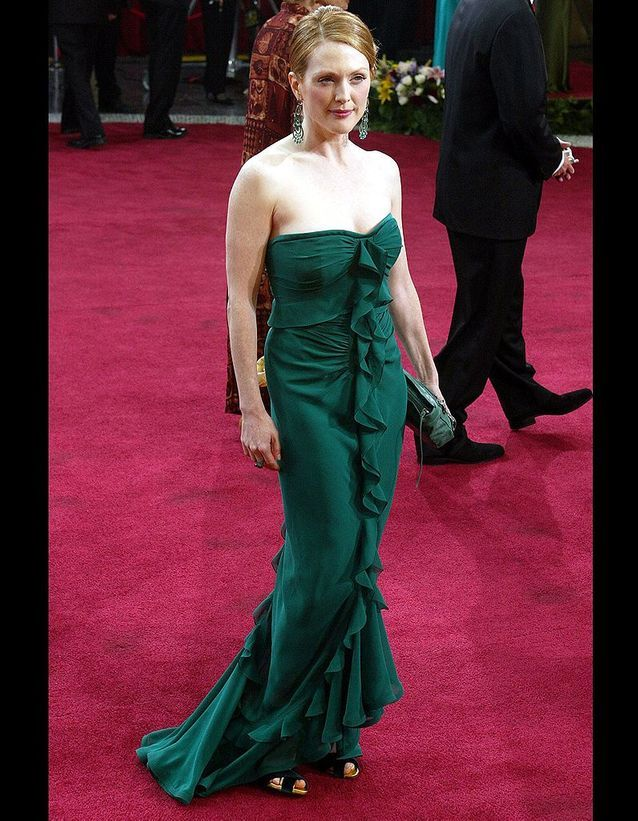 Julianne Moore en Yves Saint Laurent