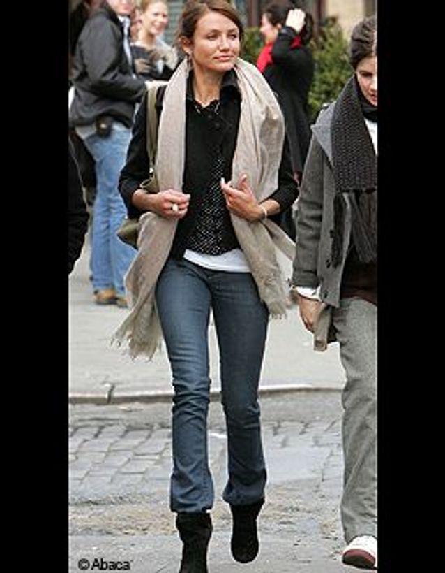 Cameron Diaz en jean