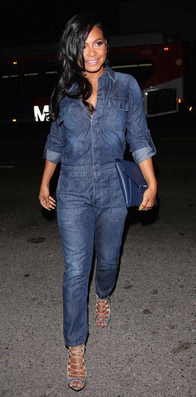 Christina Milian en jean