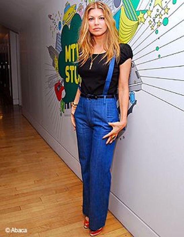 Fergie en jean