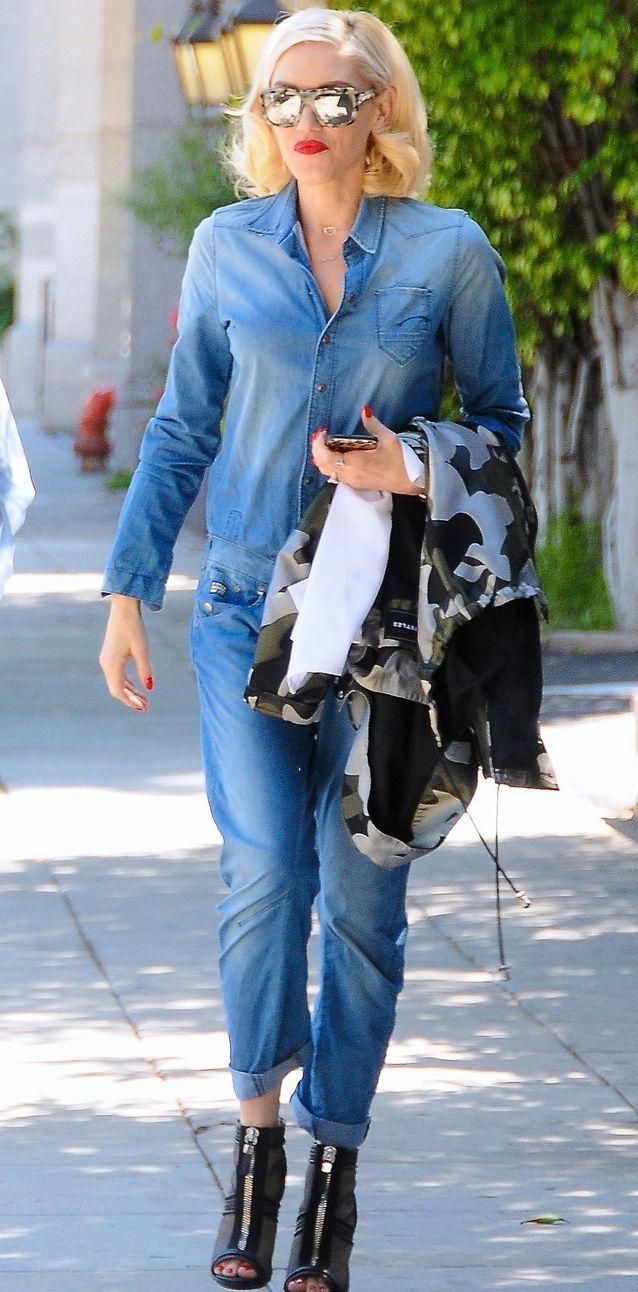 Gwen Stefani en jean