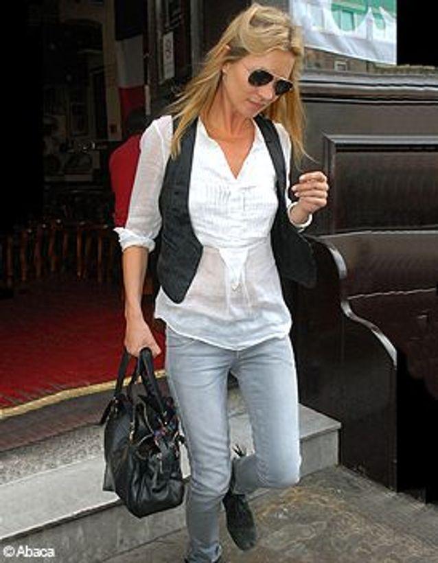 Kate Moss en jean