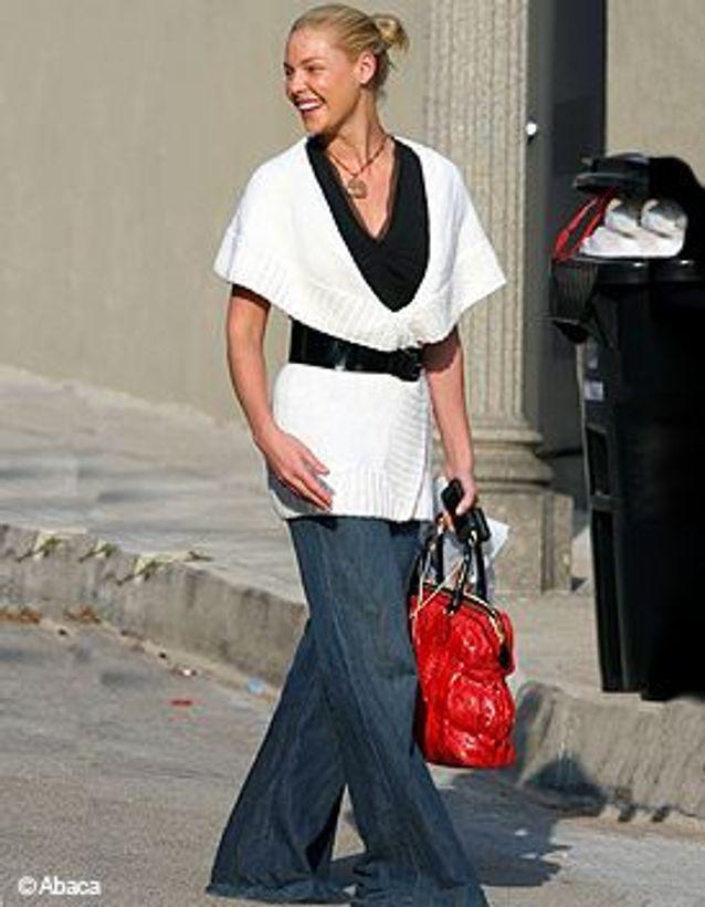 Katherine Heigl en jean