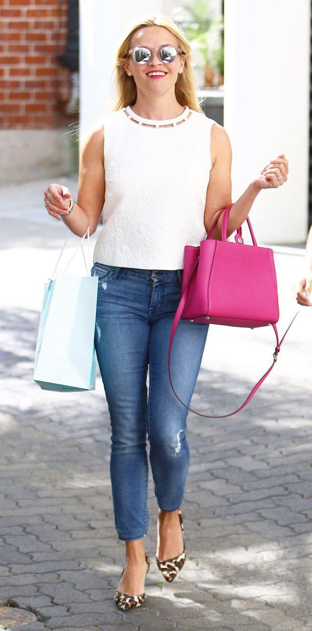 Reese Witherspoon en jean