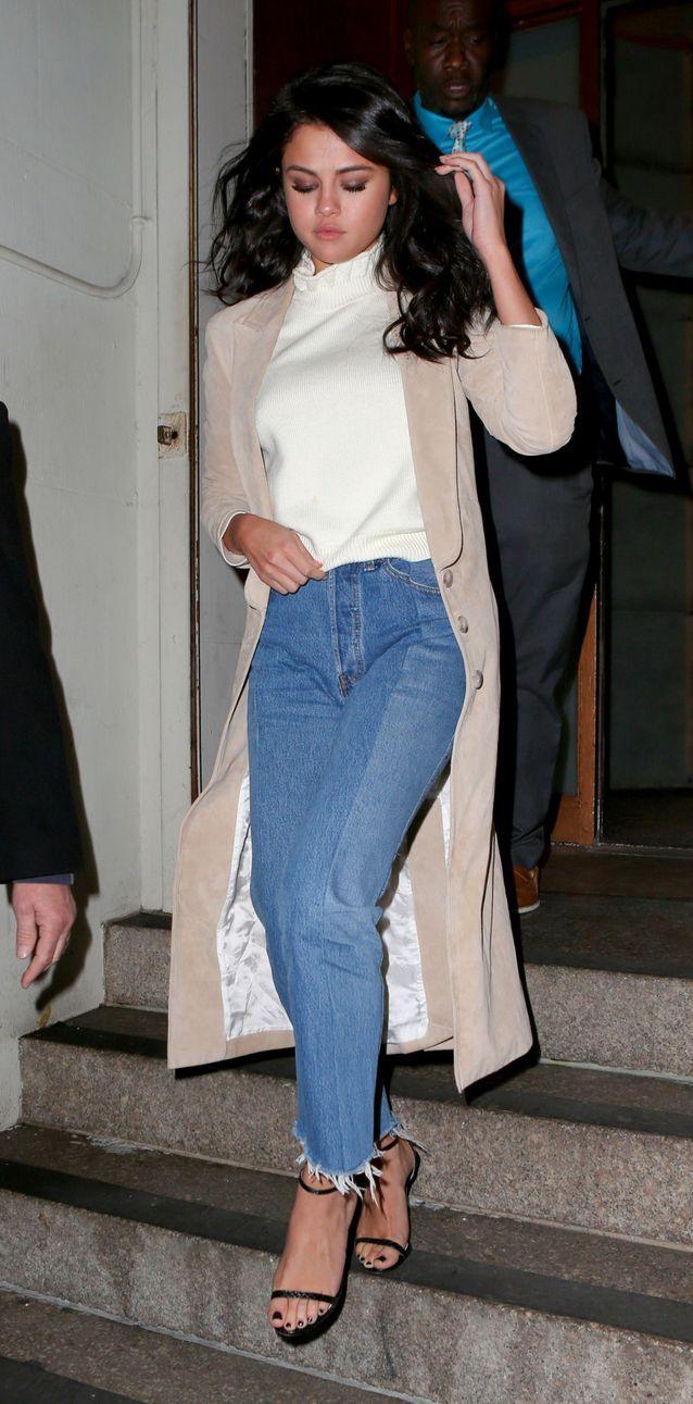 Selena Gomez en jean