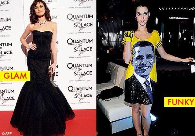 Olga Kurylenko vs Katy Perry : glam ou funky ?