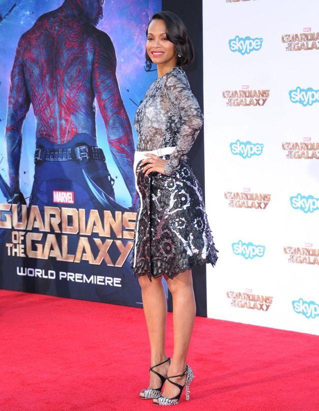 A l'avant-première des «Gardiens de la Galaxie»