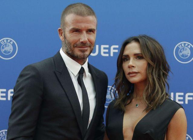 A Monaco, David et Victoria Beckham font leur retour en couple sur le tapis rouge