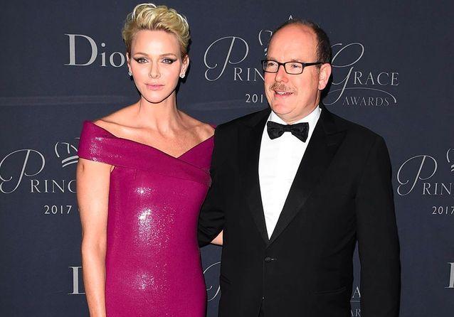 Albert et Charlène de Monaco entourés des stars d'Hollywood pour le gala des Princess Grace Awards