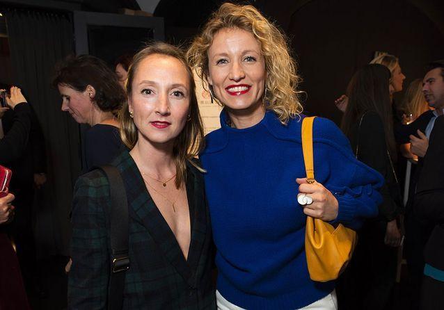 Audrey et Alexandra Lamy, sœurs complices avec Isabelle Adjani à la Secret Gallery