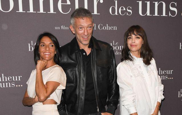 Bérénice Bejo, Vincent Cassel et Florence Foresti