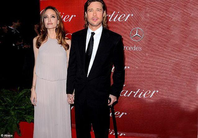 Brad Pitt, blessé au Palm Spring Film Festival