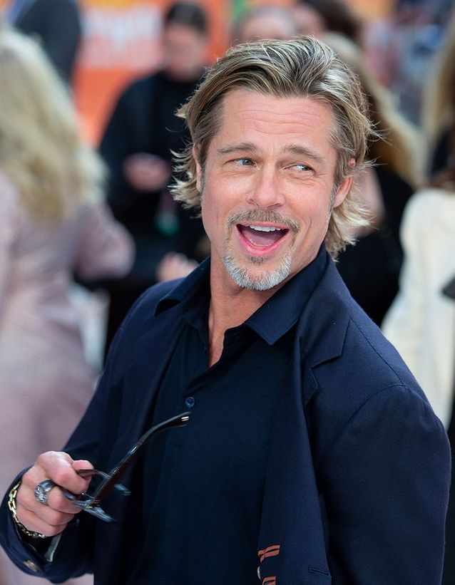 "Brad Pitt à l'avant-première de ""Once upon a time... in Hollywood"""
