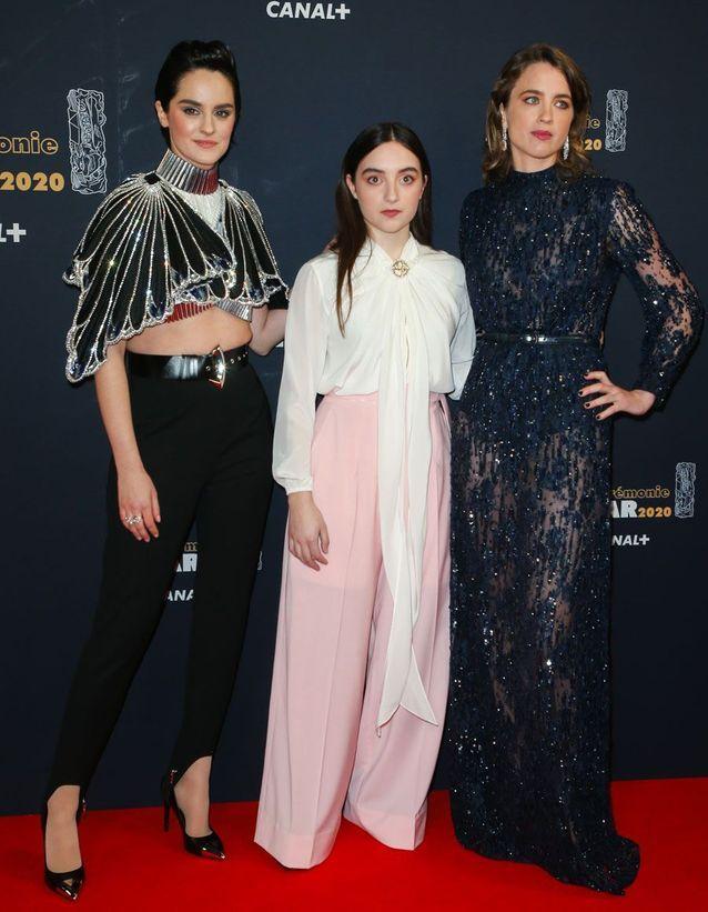 Noémie Merlant, Luana Bajrami et Adèle Haenel