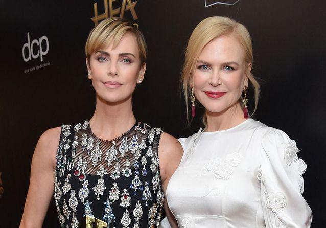 Charlize Theron et Nicole Kidman : duo complice et glamour à Hollywood