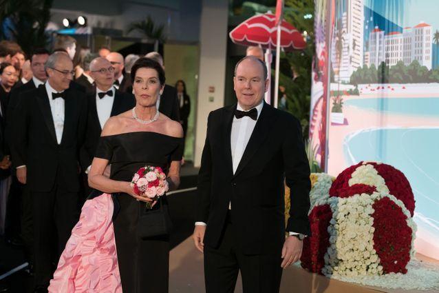 Caroline et Albert de Monaco, fous d'élégance