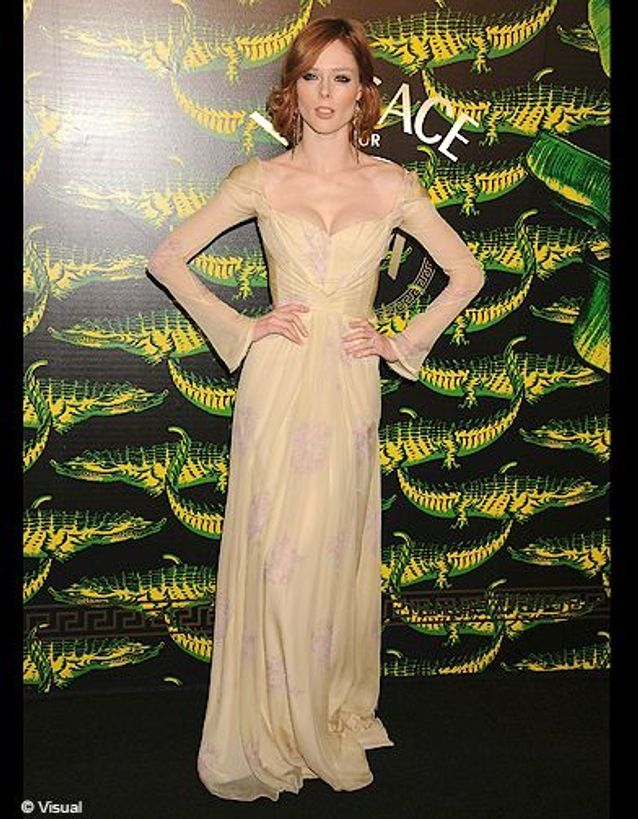 People tapis rouge soiree h m versace coco rocha