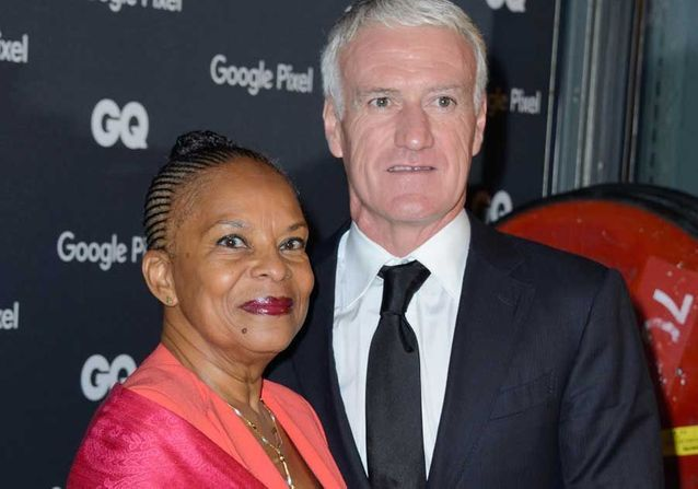 Didier Deschamps et Christiane Taubira : duo inattendu sur tapis rouge