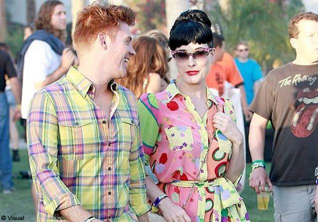 Dita von Teese, Diane Krüger et Kelly Osbourne au festival Coachella