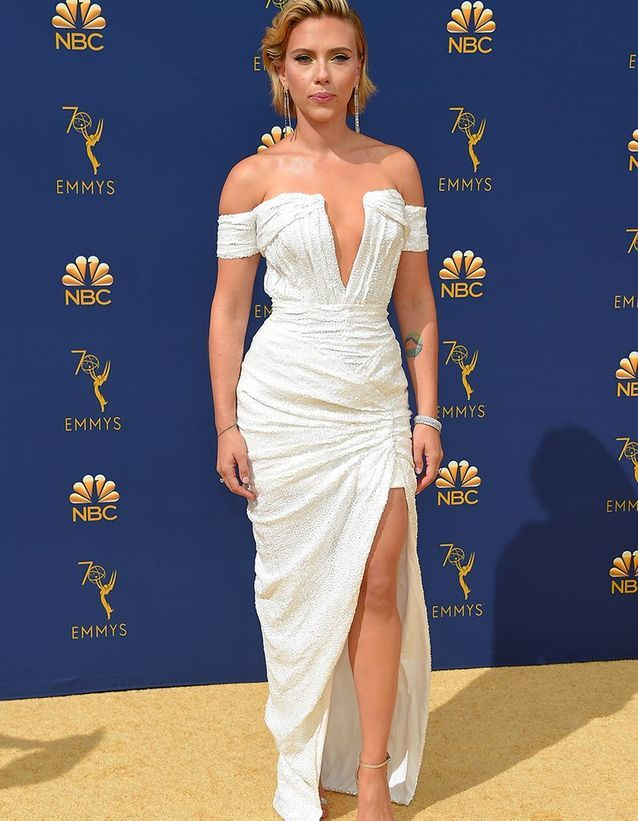 Scarlett Johansson en Balmain