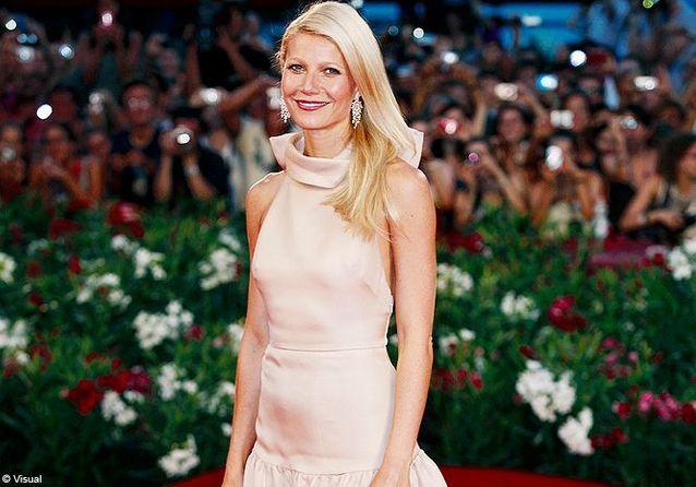 Gwyneth Paltrow, glamour à la Mostra de Venise