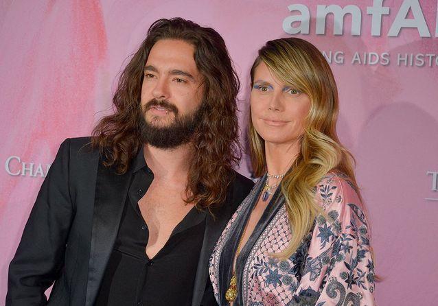 Heidi Klum et Tom Kaulitz, l'amour sur le tapis rouge du gala de l'amfAR