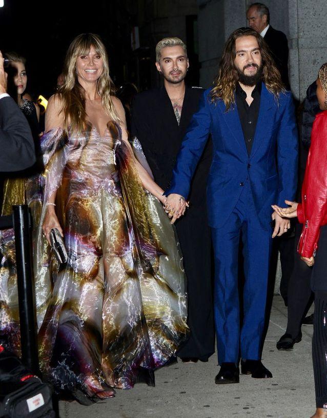 Heidi Klum, Tom et Bill Kaulitz