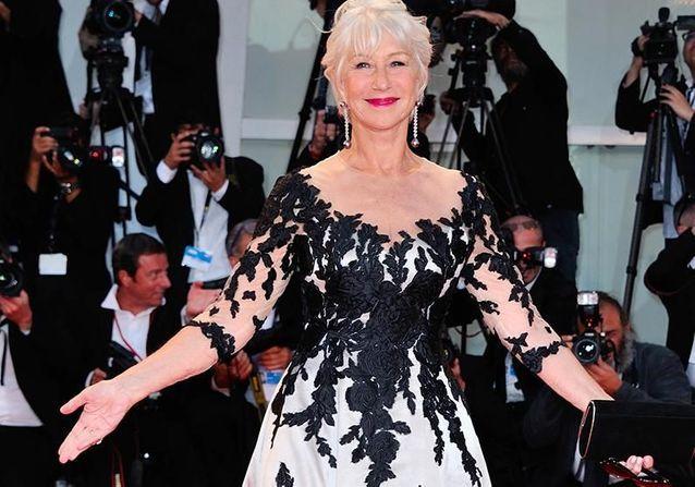 """Helen Mirren présente """"The Leisure Seeker"""" à la Mostra de Venise"""