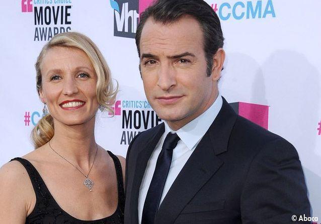 Jean Dujardin et Alexandra Lamy représentent la France aux Critics Choice Awards
