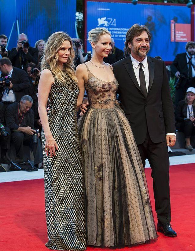 Michelle Pfeiffer, Jennifer Lawrence et Javier Bardem