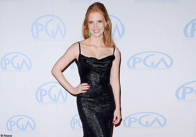 Jessica Chastain illumine les Producers Guild Awards