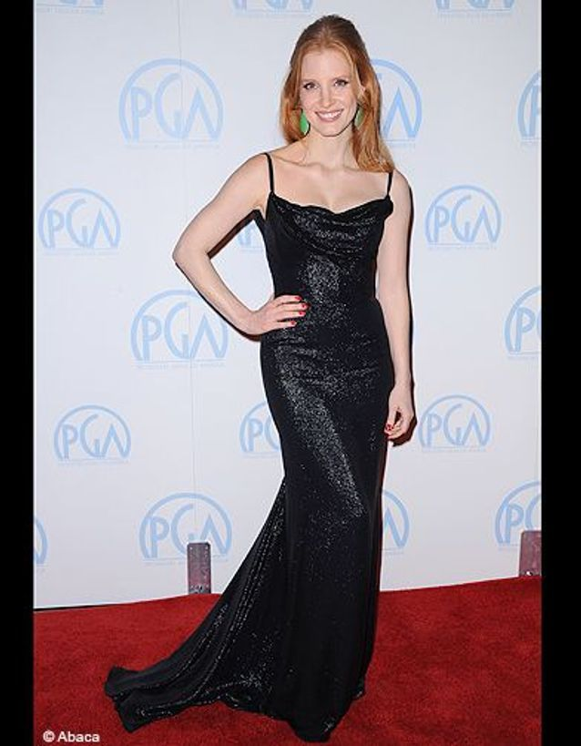 Jessica Chastain aux Producers Guild Awards