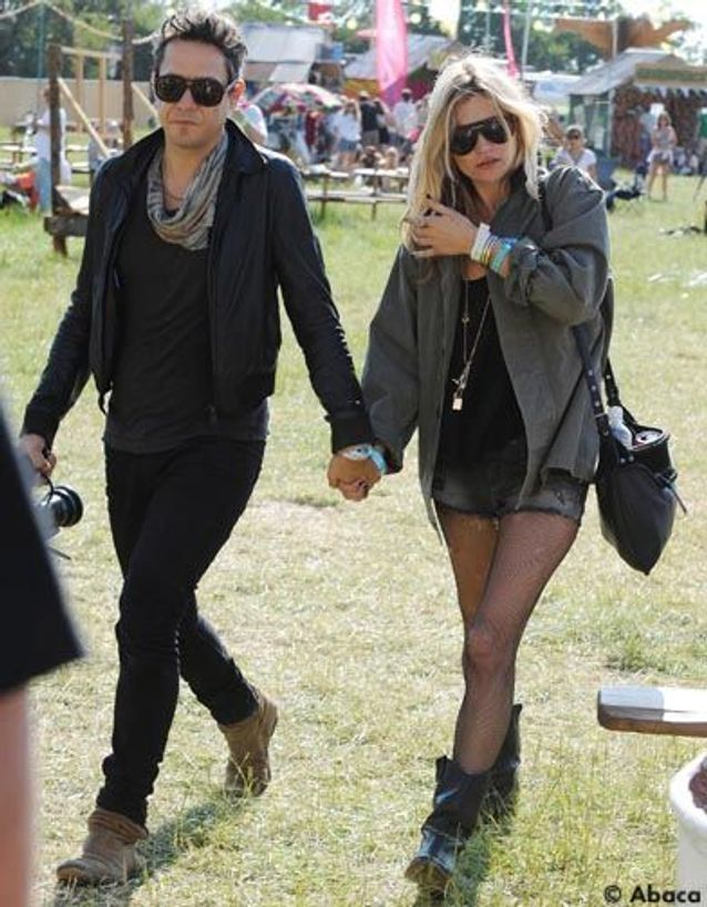 Kate moss et Jamie Hince