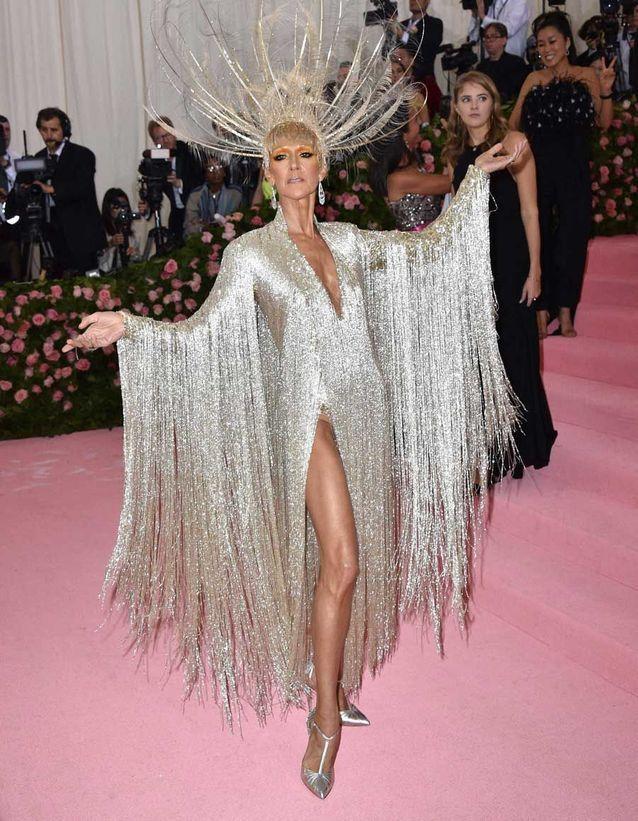 Céline Dion en Oscar de la Renta