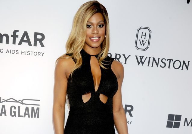 Laverne Cox, star du red carpet de l'amfAR Inspiration Gala !