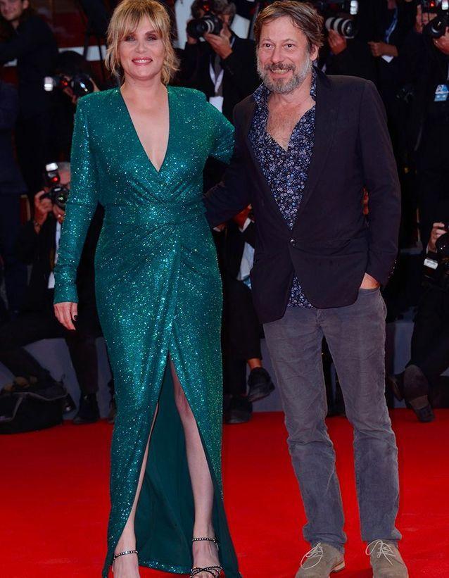 Emmanuelle Seigner et Mathieu Amalric