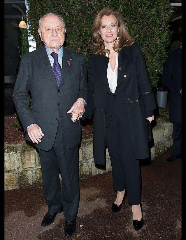 Pierre Bergé et Valérie Trierweiler