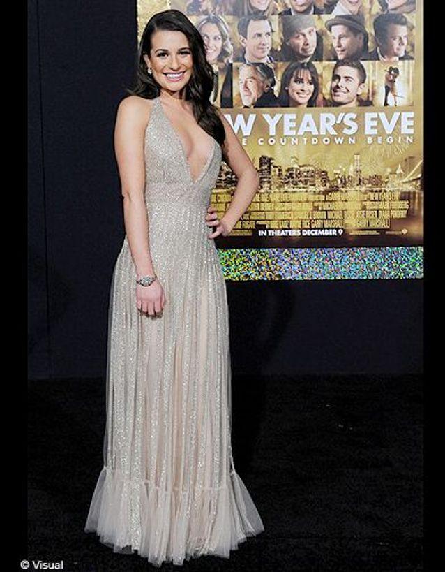 Lea Michele en Valentino