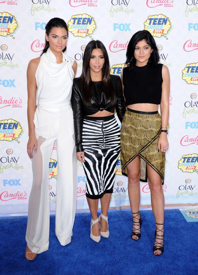 Kendall Jenner, Kim Kardashian et Kylie Jenner