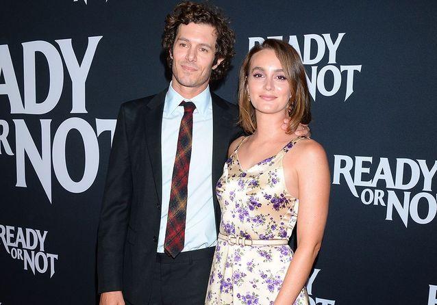Leighton Meester : la star de Gossip Girl prend la pose avec son mari Adam Brody