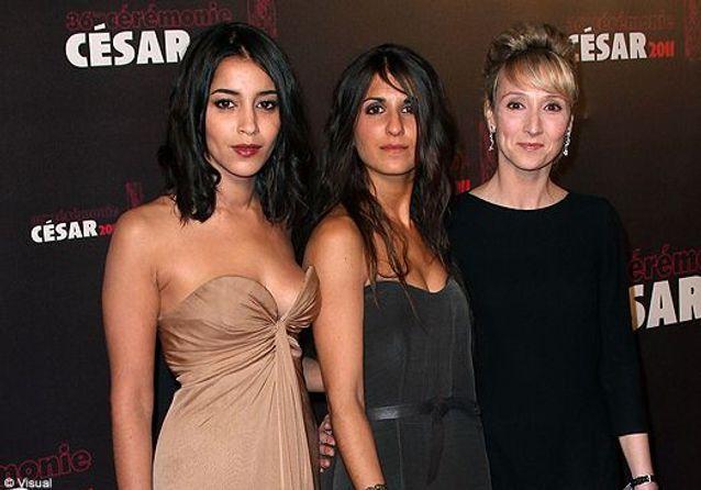 Leïla Bekhti, Sara Forestier et le gratin du cinéma français aux César