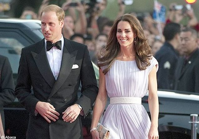 Les Baftas Brits honorent Kate Middleton et le prince William