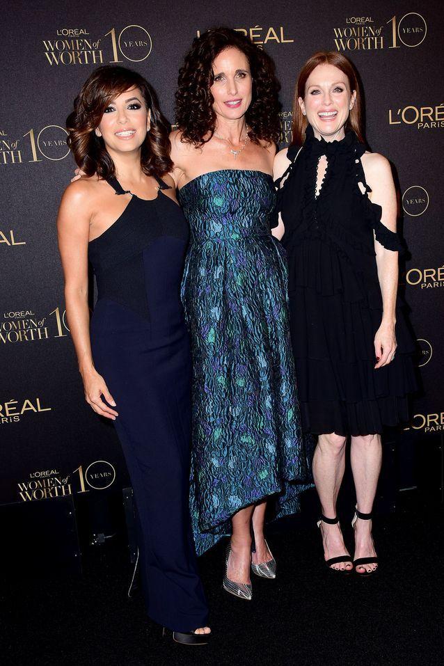Eva Longoria, Andie MacDowell et Julianne Moore