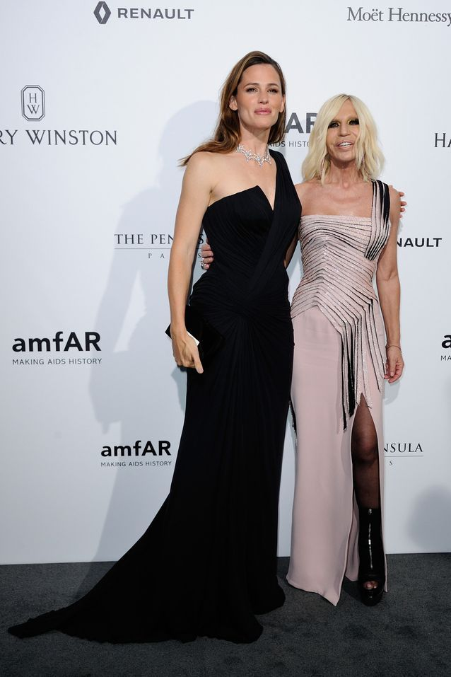Jennifer Garner et Donatella Versace